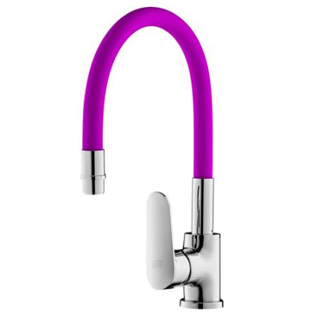 360°Schwenkbar Küchenarmatur Violett