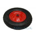 Schubkarrenrad 4.80/4.00-8 Metallfelge Luft-Reifen Schubkarre Ersatz-Rad 390mm