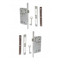 Zimmertür-Einsteckschloss 72 / 55mm Buntbartschlösser (BB)