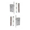 Zimmertür-Einsteckschloss 72 / 55mm WC- und Badtüren