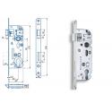 Zimmertür-Einsteckschloss 90 / 40mm Profilzylinder PZ