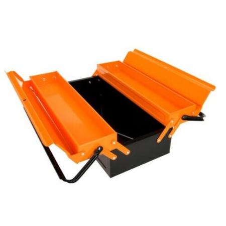 Montage Koffer Metall 430mm 5 Fächer