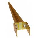 Pfostenträger 80-120 x 750 Einschlaghülse Einschlagbodenhülse